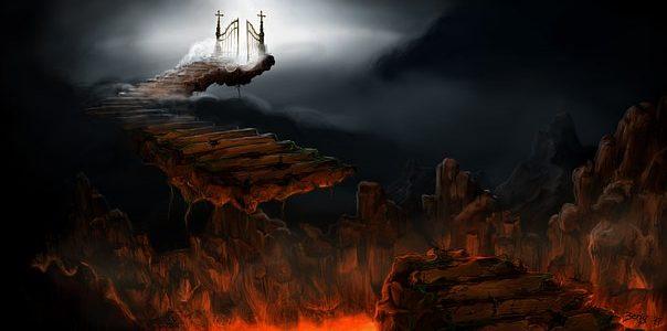 地獄の沙汰も金次第?地獄の種類について
