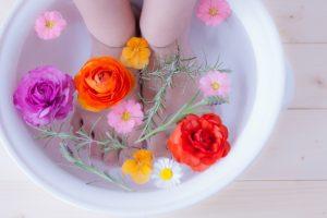 自宅でできる!足湯の楽しみ方